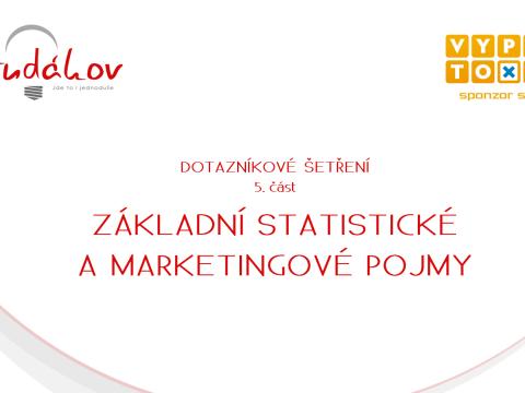 Statistické a marketingové pojmy