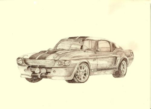Ford Mustang Shelby GT 500 ´Eleanor´ 1 f