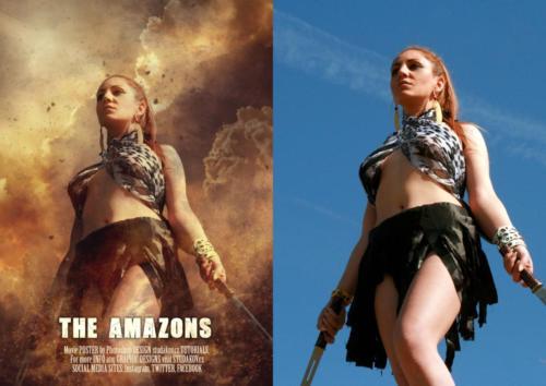 The Amazons - před a po2